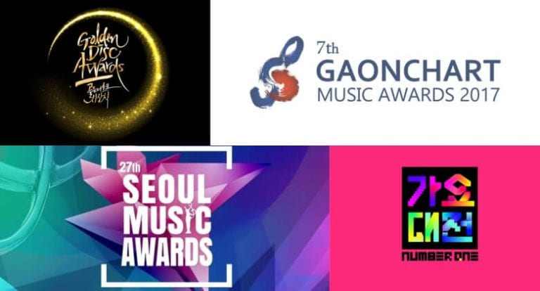 A Complete Guide to 2018/2019 Winter K-pop Awards in Korea
