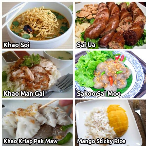 Chiang Mai Food Travel Guide – Trazy Blog