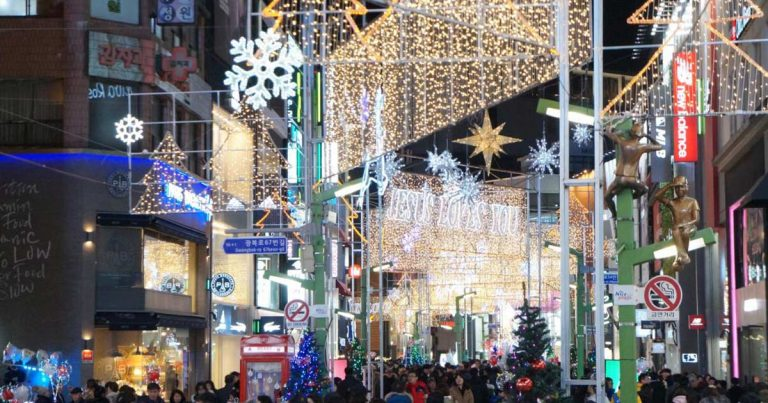 11 Best Places to See the Christmas Lights & Decor in Korea