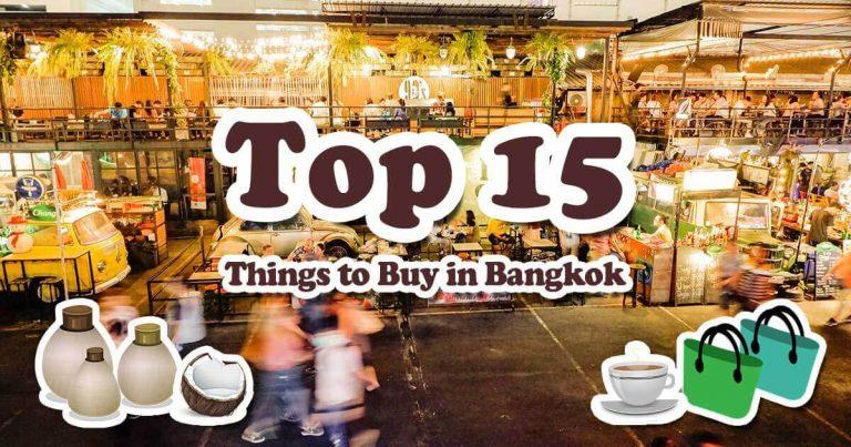 Top 15 Things to Buy in Bangkok, Thailand