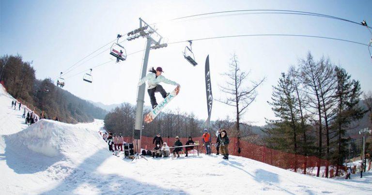 Fun Winter Day Out in Bears Town Ski Resort!